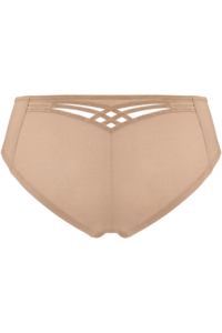 Marlies Dekkers Dame de Paris Shorts Brazilian Sand and Golden Lurex