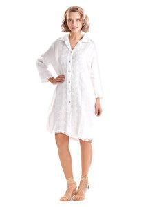 Iconique Romina Shirt-Dress Wit