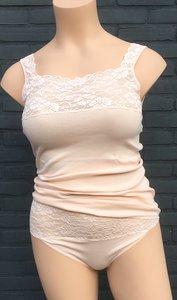 Nina von C. Fine Cotton Luxe Hemd Apricot