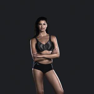 Anita Active Momentum Sport BH met beugel Zwart