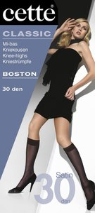 Cette Semi-Opaque Boston Kniekous 30 den