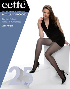 Cette Fun Hollywood panty's 25 den
