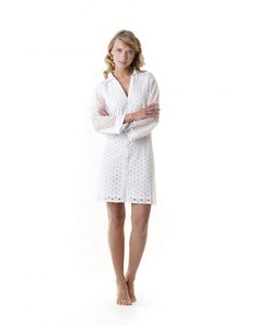 Iconique Positano Romina Shirt-Dress Wit