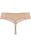 Marlies Dekkers String Dame de Paris Sand and Golden Lurex