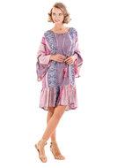 Iconique La Vie En Rose Miranda 3/4 mouw jurkje