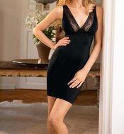 Susa Bodyforming dress zwart 5536