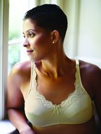 ABC Breastcare Front Lace BH Beige