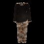 Ringella Cherie-Line, Pyjama zwart met panter