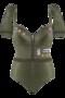 Marlies Dekkers Aviator Padded Plunge Balcony Body (detachable sleeves)