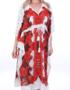 Dresskini Resort Red Tiger Maxi Dress