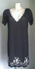Gattina-Nachthemd-Zwart-Wit