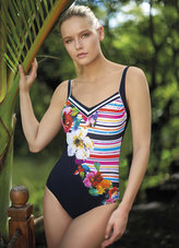Sunflair Flowers and Stripes Badpak